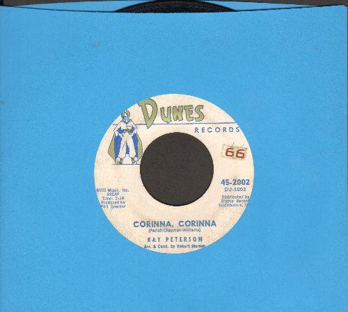 Peterson, Ray - Corinna, Corinna/Be My Girl (ssol) - VG7/ - 45 rpm Records