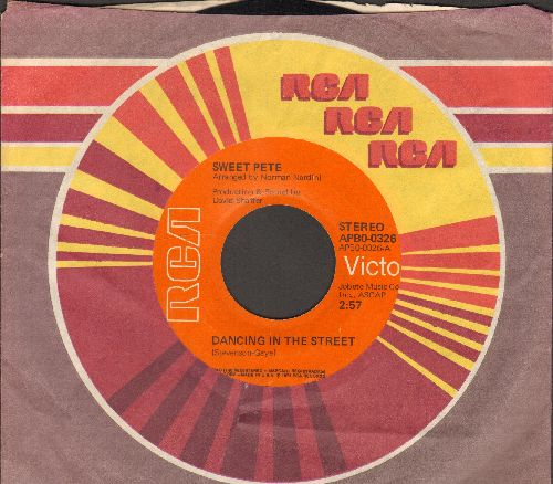 Sweet Pete - Dancing In The Street/This Time (Movin' On) (with RCA company sleeve) - NM9/ - 45 rpm Records