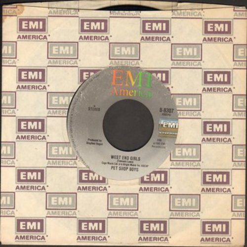 Pet Shop Boys - West End Girls/A Man Could Get Arrested  - EX8/ - 45 rpm Records