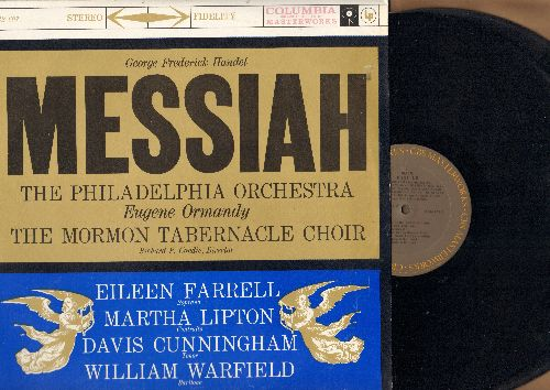 Philadelphia Orchestra, Eugene Ormandy, Mormon Tabernacle Choir - Georg Frederick Handle; - Messiah (2 vinyl STEREO LP records) - NM(/NM( - LP Records