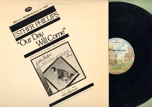 Phillips, Esther - Our Day Will Come (12 inch vinyl Maxi Single, DJ advance pressing) - NM9/EX8 - Maxi Singles