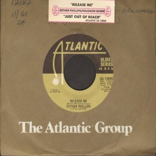 Phillips, Esther - Release Me/Just Out Of Reach (Of My Two Open Arms) (re-issue) - NM9/ - 45 rpm Records