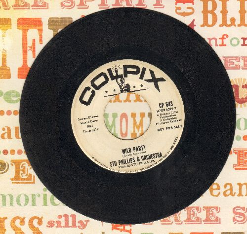 Phillips, Stu & Orchestra - Wild Party/Intern Bash (DJ advance pressing) - VG7/ - 45 rpm Records