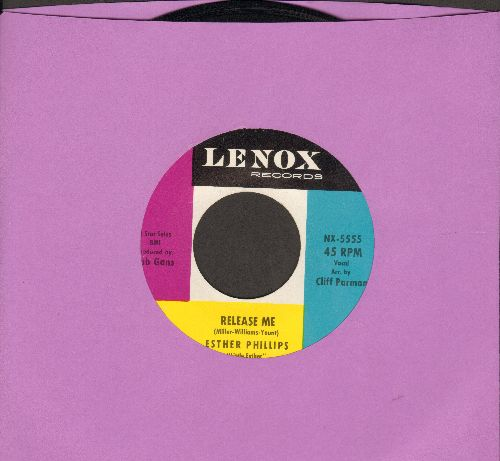 Phillips, Esther - Release Me/Don't Feel Rained On  - EX8/ - 45 rpm Records