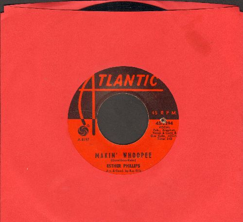 Phillips, Esther - Makin' Whoopee/Moonglow & Theme From Picnic (bb) - VG7/ - 45 rpm Records