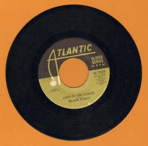 Pickett, Wilson - Land Of 1000 Dances/Engine Number 9  - EX8/ - 45 rpm Records