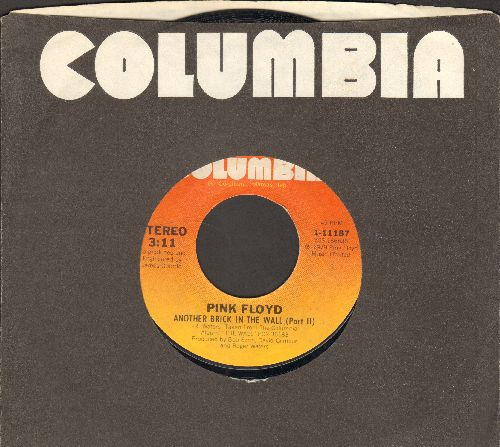 Pink Floyd - Another Brick In The Wall (Part 2)/One Of My Turns (with Columbia company sleeve) - NM9/ - 45 rpm Records
