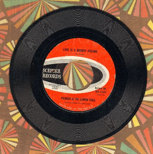 Phineas & The Lemon Fogg - Anything Can Happen (When You're Lonely)/Love Is A Groovy Feeling (bb) - EX8/ - 45 rpm Records