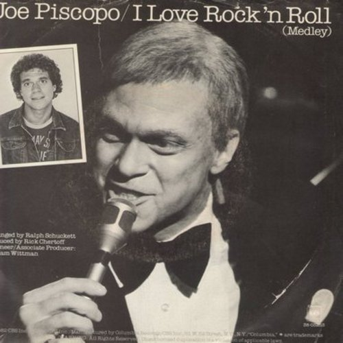 Piscapo, Joe - I Love Rock & Roll (Medley)/The First Rehearsal (with picture sleeve) - NM9/EX8 - 45 rpm Records