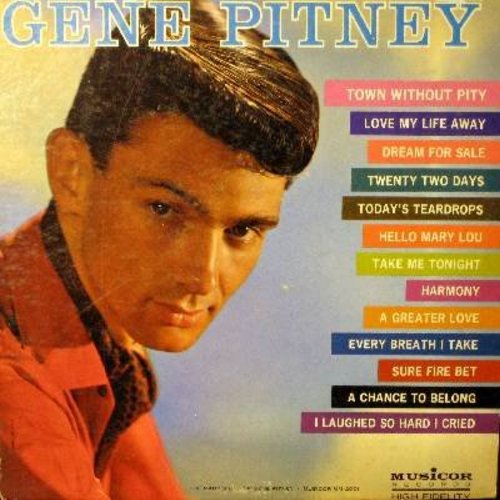 Pitney, Gene - Many Sides Of: Dream For Sale, Hello Mary Lou, Love My Life Away - M10/EX8 - LP Records
