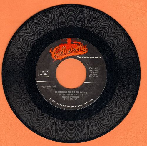 Pitney, Gene - It Hurts To Be In Love/I'm Gonna Be Strong (double-hit re-issue) - M10/ - 45 rpm Records