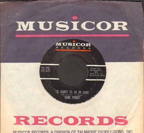 Pitney, Gene - It Hurts To Be In Love/Hawaii (with Mucisor company sleeve) - EX8/ - 45 rpm Records