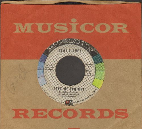 Pitney, Gene - Louisiana Mama/Take Me Tonight (with vintage Musicor company sleeve) - VG7/ - 45 rpm Records