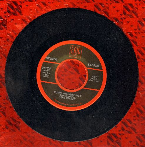 Pitney, Gene - Town Without Pity/Only Love Can Break A Heart (double-hit re-issue) - M10/ - 45 rpm Records