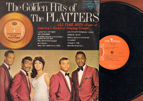 Platters - Golden Hits: Smoke Gets In Your Eyes, My Prayer, With This Ring, Only You, Harbor Lights, The Great Pretender (vinyl STEREO LP record) - NM9/EX8 - LP Records