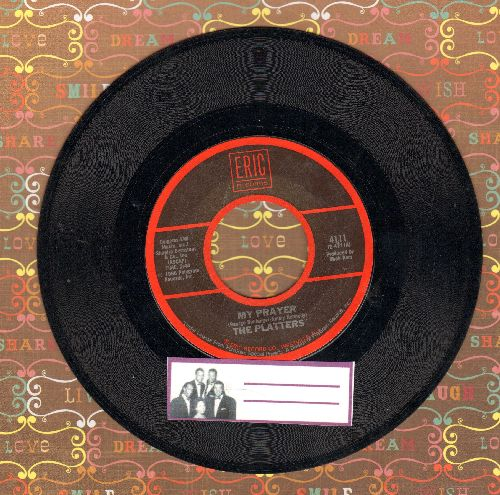 Platters - My Prayer/(You've Got) The Magic Touch (early re-issue) - EX8/ - 45 rpm Records
