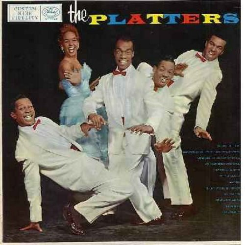 Platters - The Platters: Glory Of Love, Bewitched, Heaven On Earth, My Prayer, Remember When, I'm Sorry (vinyl MONO LP record, black label first issue) - EX8/EX8 - LP Records