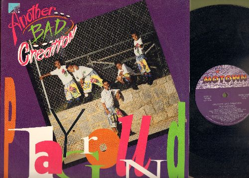 Another Bad Creation - Playground/Playground Mix (Maxi) - EX8/NM9 - Maxi Singles