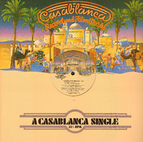Platypus - Dancing In The Moonlight (5:27)/Body And Sould (6:44) (12 inch vinyl Maxi Single with Casablanca company sleeve) - M10/ - Maxi Singles