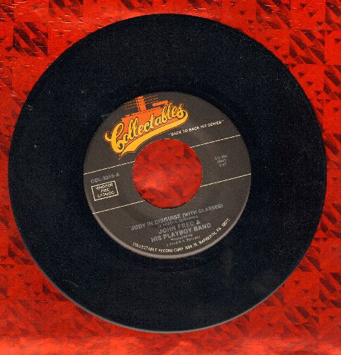 Fred, John & His Playboy Band - Judy In Disguise (With Glasses)/Hey, Hey, Bunny (double-hit re-issue) - NM9/ - 45 rpm Records