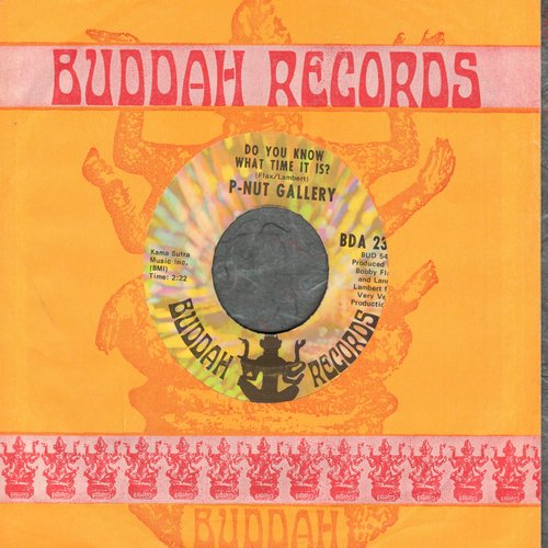 P-Nut Gallery - Do You Know What Time It Is? (Howdy Doody Time!)/Lanny's Tune (DJ advance pressing with Buddah company sleeve, MINT condition!) - M10/ - 45 rpm Records