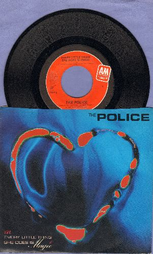Police - Every Little Thing She Does Is Magic/Shambelle (with picture sleeve) - NM9/NM9 - 45 rpm Records