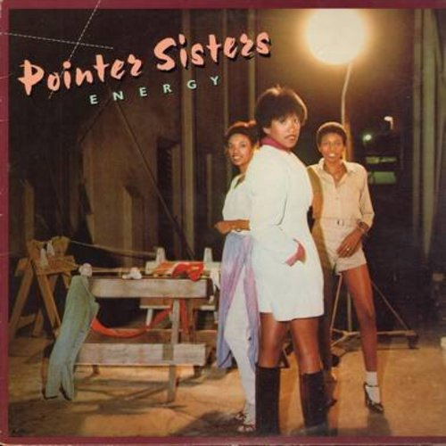 Pointer Sisters - Energy: Fire, Everybody Is A Star, Come And Get Your Love, Lay It On The Line (vinyl STEREO LP record) - EX8/VG7 - LP Records