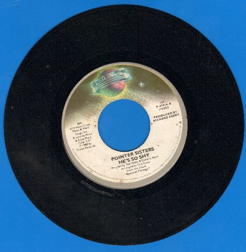 Pointer Sisters - He's So Shy/Movin' On - VG7/ - 45 rpm Records
