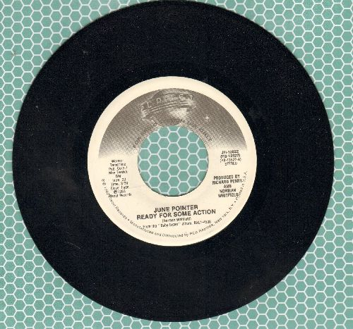 Pointer, June - Ready For Some Action (double-A-sided DJ advance pressing) - NM9/ - 45 rpm Records
