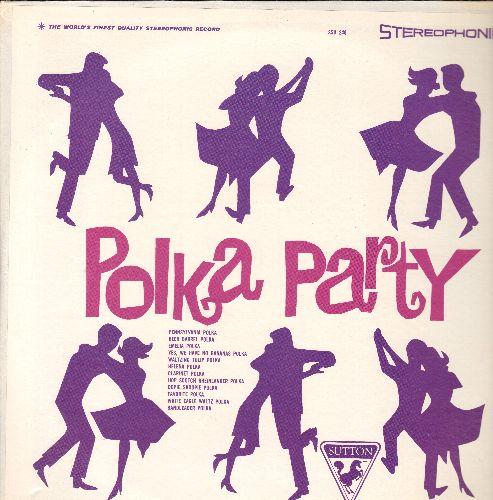 Polka Party - Polka, Polka, Polka: Pennsylvania Polka, Beer Barrel Polka, Helena Polka, Yes We Have No Bananas Polka (vinyl STEREO LP record, PARTY FAVORITE!) - NM9/VG7 - LP Records
