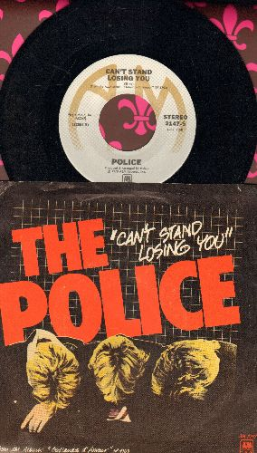Police - Can't Stand Losing You/No Time This Time (with picture sleeve) - NM9/EX8 - 45 rpm Records