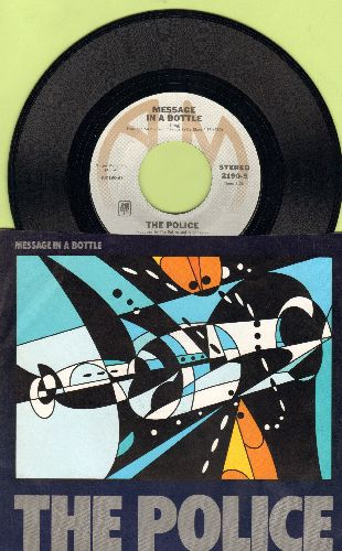 Police - Message In A Bottle/Landlord (with picture sleeve) - NM9/NM9 - 45 rpm Records