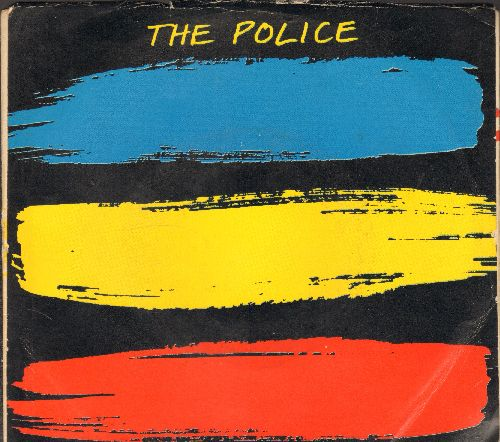 Police - Every Breath You Take/Murder By Number (with picture sleeve) - NM9/EX8 - 45 rpm Records