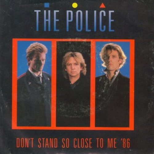 Police - Don't Stand So Close To Me '86/A Sermon (with picture sleeve) - NM9/EX8 - 45 rpm Records