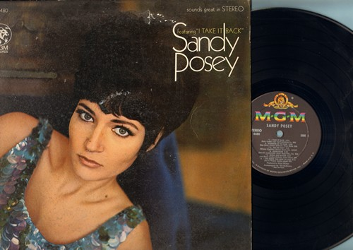 Posey, Sandy - Sandy Posey: I Take It Back, The Big Hurt, Bread And Butter, Love Of The Common People, ome Softly To Me, Halfway To Paradise (vinyl STEREO LP record) - NM9/VG7 - LP Records
