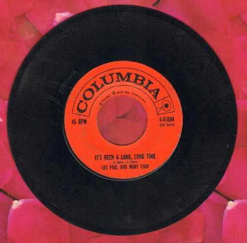 Paul, Les & Mary Ford - It's Been A Long, Long Time/Jura  - VG7/ - 45 rpm Records