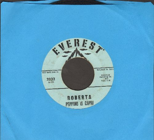 Di Capri, Peppino - Roberta/Quando (US Pressing, sung in Italian) - VG7/ - 45 rpm Records