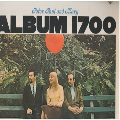 Peter, Paul & Mary - Album 1700: Leaving On A Jet Plane, The Great Mandela (The Wheel Of Life), I Dig Rock And Roll Music (vinyl STEREO LP record, GERMAN Pressing) - M10/EX8 - LP Records