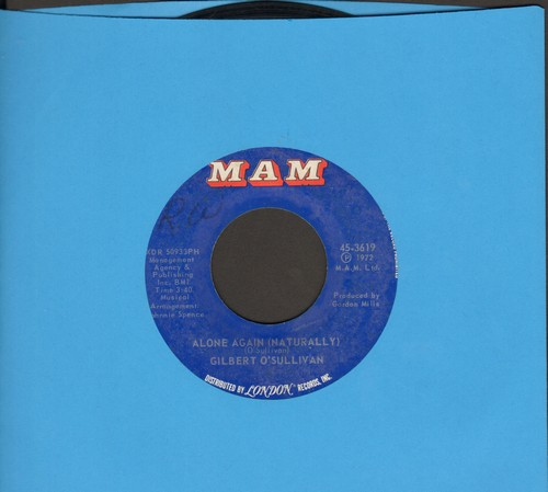 O'Sullivan, Gilbert - Alone Again (Naturally)/Save It  - VG7/ - 45 rpm Records