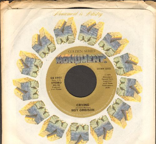 Orbison, Roy - Crying/Candy Man (re-issue with company sleeve) - NM9/ - 45 rpm Records