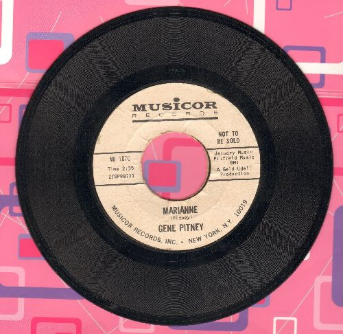 Pitney, Gene - I Must Be Seeing Things/Marianne (DJ advance pressing) - NM9/ - 45 rpm Records