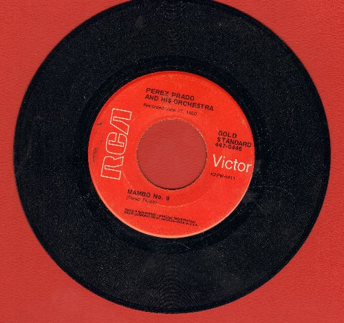 Prado, Perez & His Orchestra - Patricia/Mambo No. 8 (double-ht re-issue, red label) - EX8/ - 45 rpm Records
