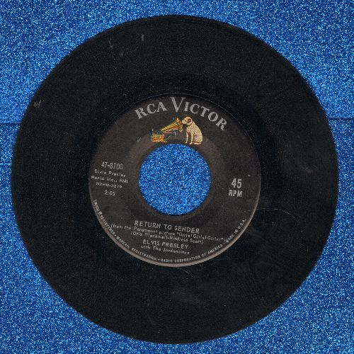 Presley, Elvis - Return To Sender/Where Do You Come From  - VG7/ - 45 rpm Records