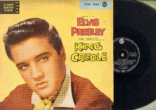 Presley, Elvis - King Creole - Original Motion Picture Soundtrack (vinyl MONO LP record, German Pressing) - VG7/VG6 - LP Records