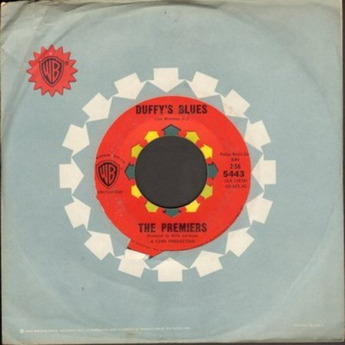 Premiers - Farmer John/Duffy's Blues (with vintage Warner Brothers company sleeve) - NM9/ - 45 rpm Records