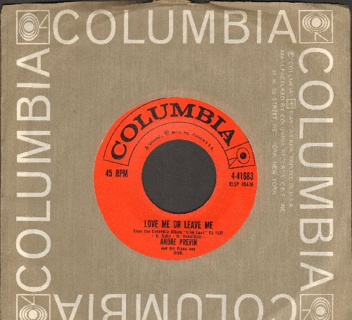 Previn, Andre - Love Me Or Leave Me/Like Love (with Columbia company sleeve) - EX8/ - 45 rpm Records