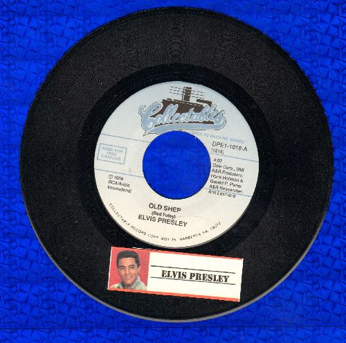 Presley, Elvis - Old Shep/You'll Never Walk Alone (re-issue) - NM9/ - 45 rpm Records