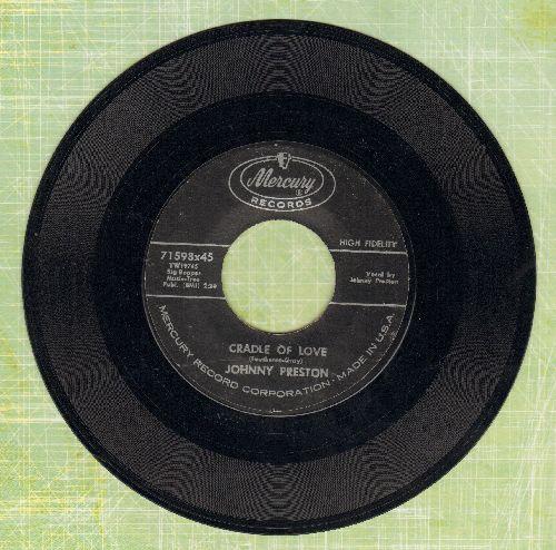 Preston, Johnny - Cradle Of Love/City Of Tears  - VG7/ - 45 rpm Records