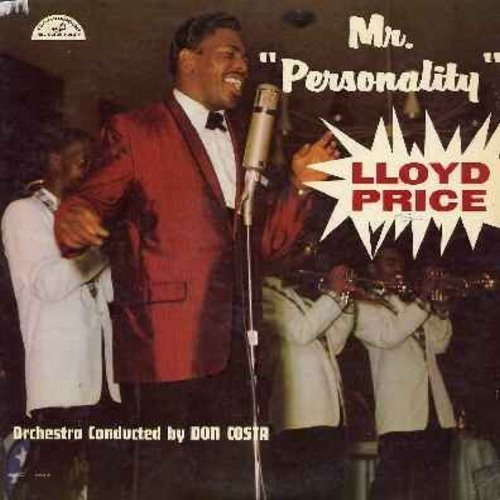 Price, Lloyd - Mr. Personality: Is It Really Love?, All Of Me, I Only Have Eyes For You, Yakety-Yak, Personality, I Want You To Know (vinyl LP record) - EX8/VG7 - LP Records