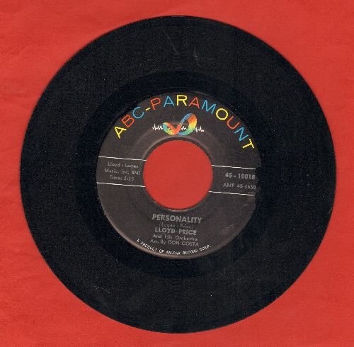 Price, Lloyd - Personality/Have You Ever Had The Blues  - NM9/ - 45 rpm Records